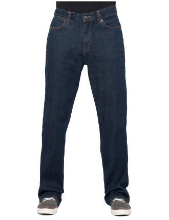 Blue Stretch Denim Jean