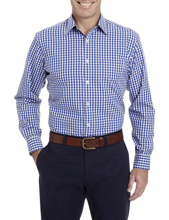 Easy Care Oxford Gingham Shirt