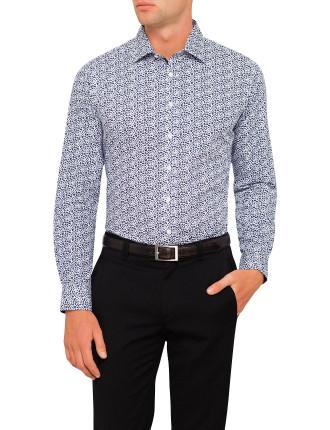 Lido Print Slim Fit Shirt