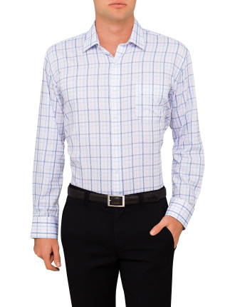 3 Colour Check Classic Fit Shirt