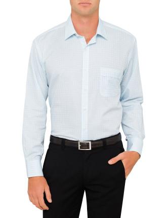 2 Colour Check Classic Fit Shirt