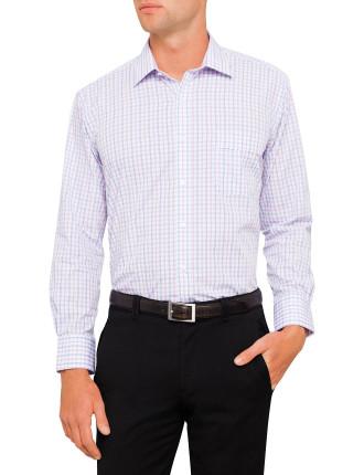 Bold 2 Colour Check Classic Fit Shirt
