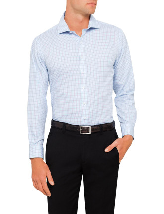 New Gingham Check Euro Fit Shirt