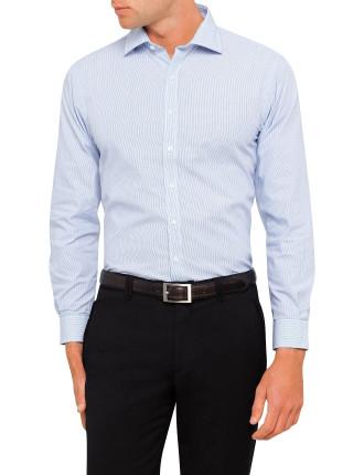 Stripe Dobby Euro Fit Shirt