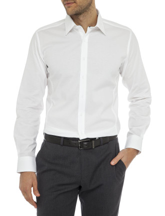 Speckle Stretch Dot Body Fit Shirt