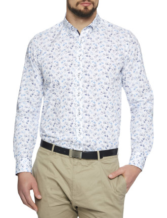 Cycle Print Slim Fit Shirt