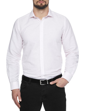 Long Beach Linen Slim Fit Shirt