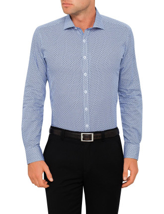 Mendacino Medallion Body Fit Shirt