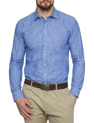 Malibu Linen Print Shirt