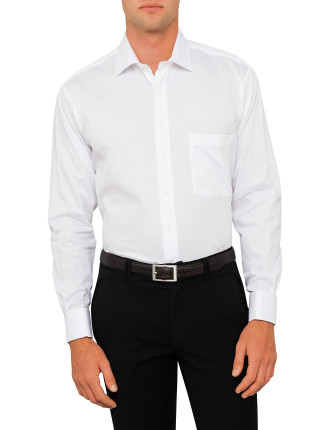 Madison Semi Solid Double Cuff Regular Fit Shirt