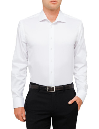 Infinite White Slim Fit Shirt