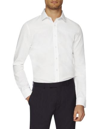 Ls Sateeen Dot Camden Shirt