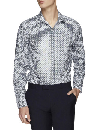 Ls Tile Geo Kings Shirt