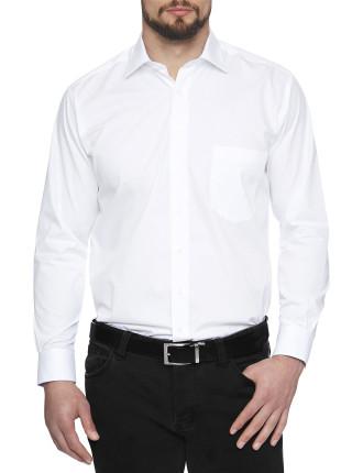 Fairmont Dobby Stretch Collar Regular Fit Shirt