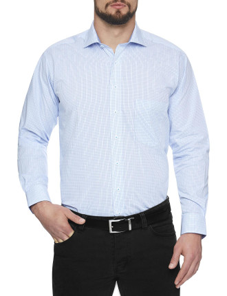 Temple Check Regular Fit Shirt