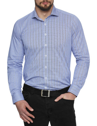 Mt Vernon Check Slim Fit Shirt