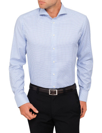 Dobby Check Slim Fit Shirt