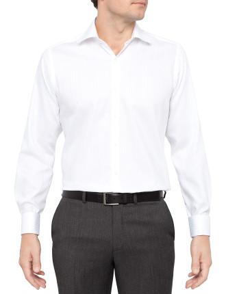Hi Lo Slim Fit Shirt Double Cuff