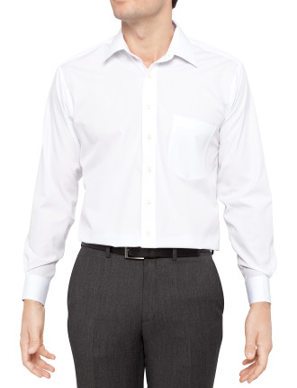 Lanolin Regular Fit Superfine Poplin Shirt