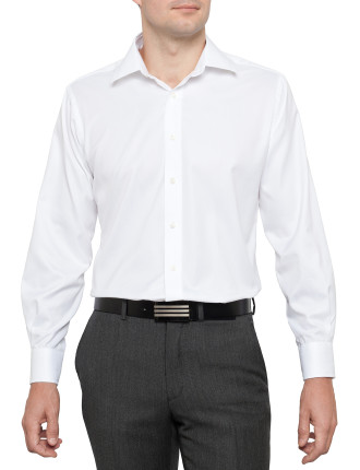 Slim Fit Twill Business Shirt
