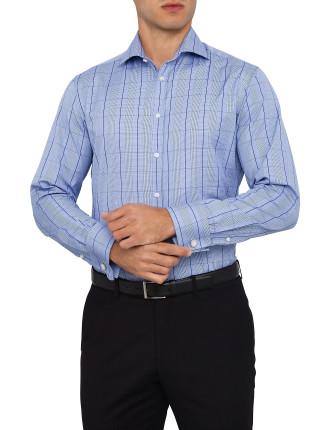 City Fit Pow Overcheck Shirt