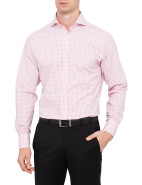 Brabant Windowpane Slim Fit Shirt $99.95