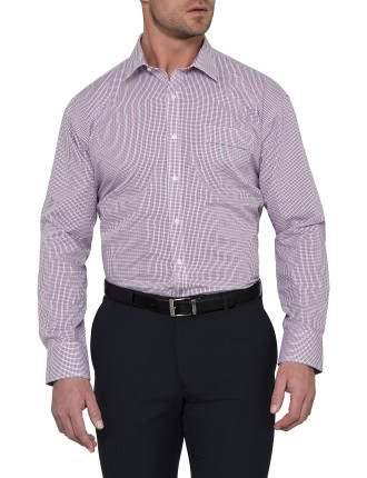 CLASSIC FIT TWO COLOUR CHECK SHIRT