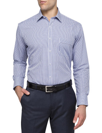 GINGHAM CHECK CLASSIC FIT SHIRT