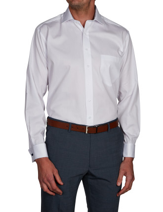 HONEYCOMB DOBBY REGULAR FIT SHIRT