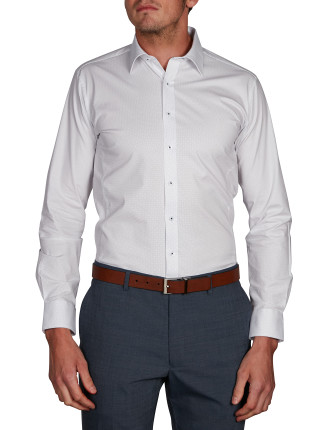 SQUAW VALLEY PRINT BODY FIT SHIRT