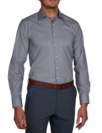 PETOSKY PRINT STRETCH SLIM FIT SHIRT