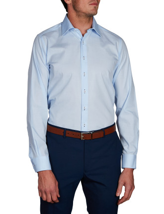 ALTA DOBBY SLIM FIT SHIRT