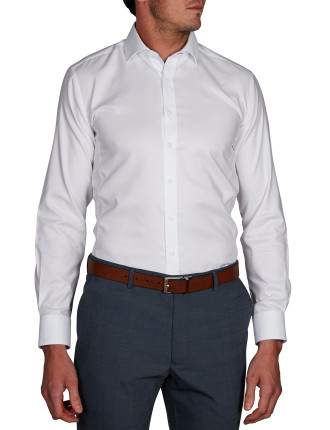 PAOLI STRETCH PINPOINT STRETCH BODY FIT SHIRT
