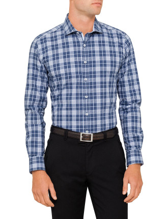 CADILLAC STRETCH CHECK BODY FIT SHIRT
