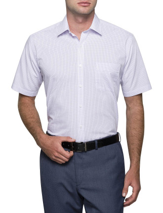 SMALL GRID CHECK CLASSIC FIT SHIRT