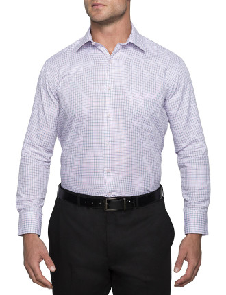MULTI SCALE CHECK EURO FIT SHIRT