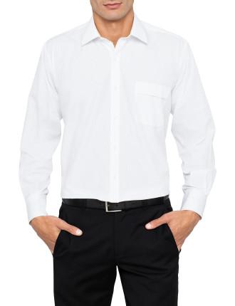 Classic fit Plain Poplin Shirt