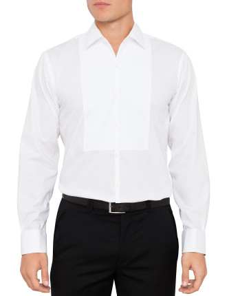 Tuxedo Bib Front Slim Fit Dinner Shirt
