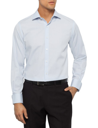 Plain Dobby Slim Fit Shirt