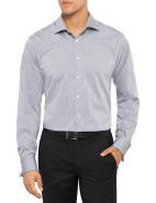 Solid End On End Slim Fit Shirt $44.97