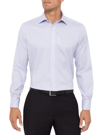 Regular Fit Mini Criss Cross Business Shirt