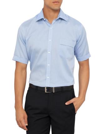 Short Sleeve Nailhead Classic Fit Shirt