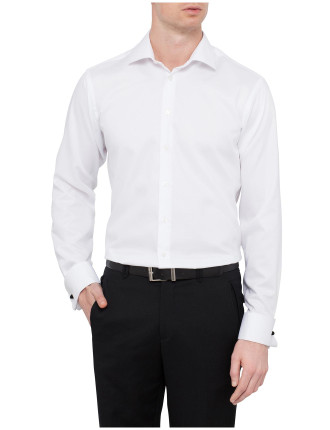 Slim Fit Nailhead Business Shirt