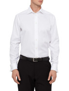Herringbone Self Stripe Contemporary Fit Shirt $239.00
