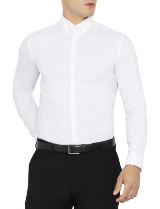 Stretch Collar Pin Shirt