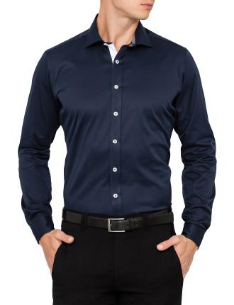 Seiseralm Twill Slim Fit Shirt