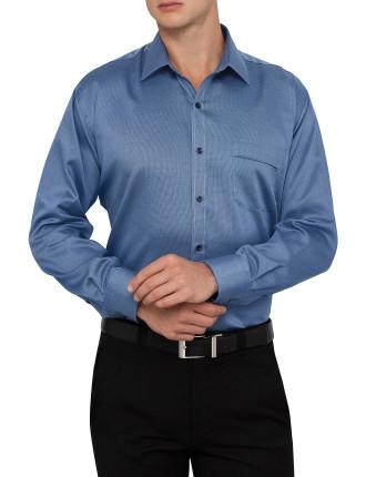 Classic Fit Nailhead Reg Cuff Business Shirt