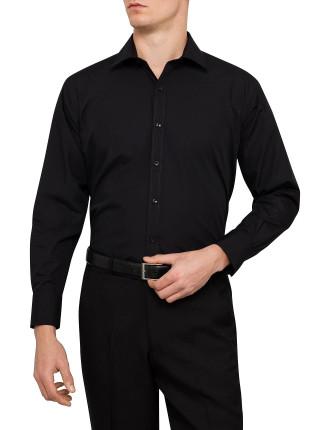 Euro Cotton Rich Flat Weave Shirt
