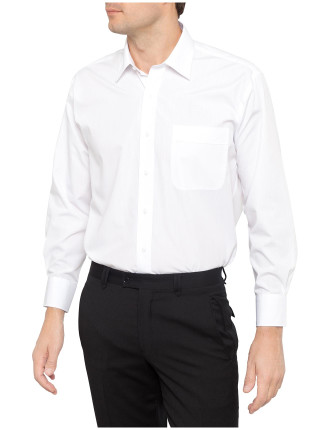 Plain Cotton Polyester Poplin Shirt