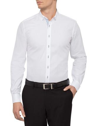 Salvadore Self Stripe Shirt